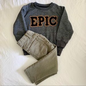 Other - 🙌🏼 EPIC toddler boy outfit -2T
